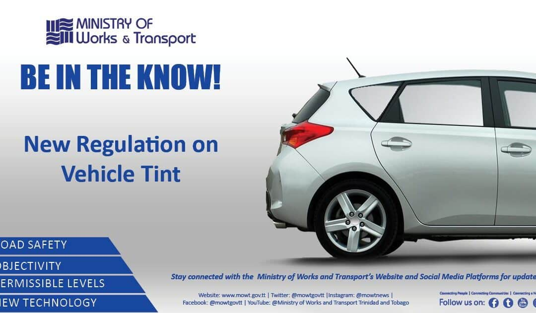 New Regulation on Vehicle Tint