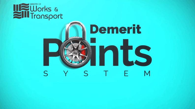 MOWT Demerit Point System